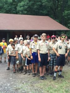 Camp Bowman, Goshen Scout Reservation, July 2016